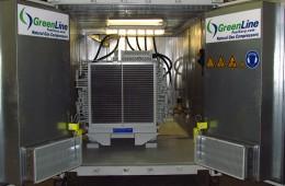 GreenLine's New CNG Compressor